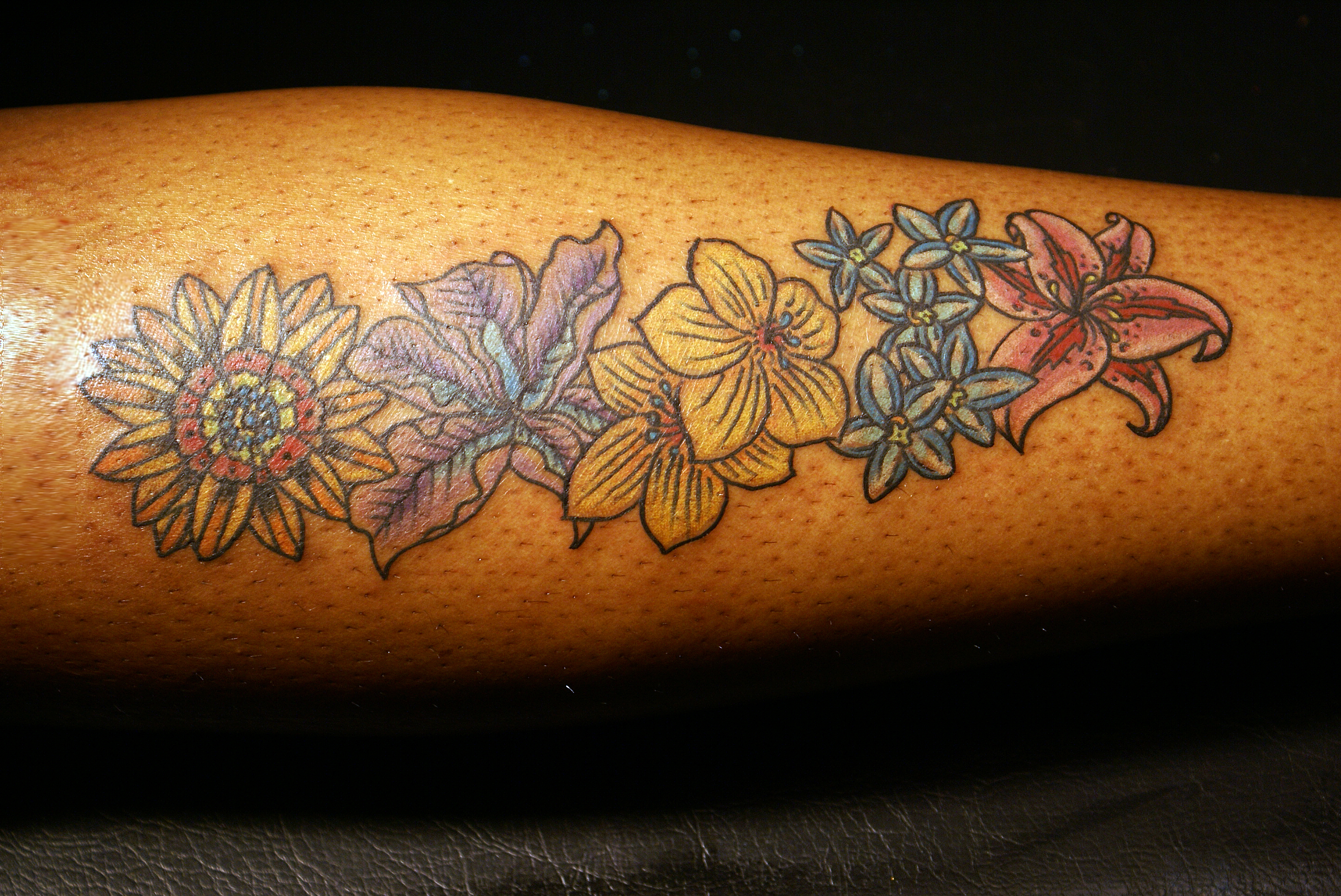 flower tattoo2