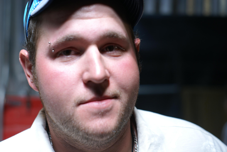 eyebrow piercing. Eyebrow piercing by Nef