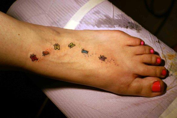 pride foot