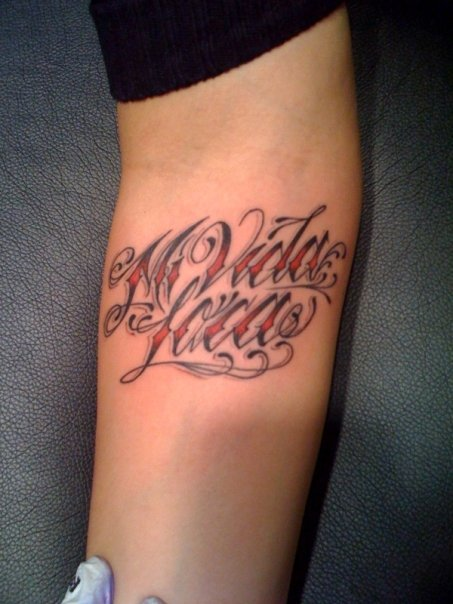 Pin Fancy Cursive Letters For Tattoos About Tattoo